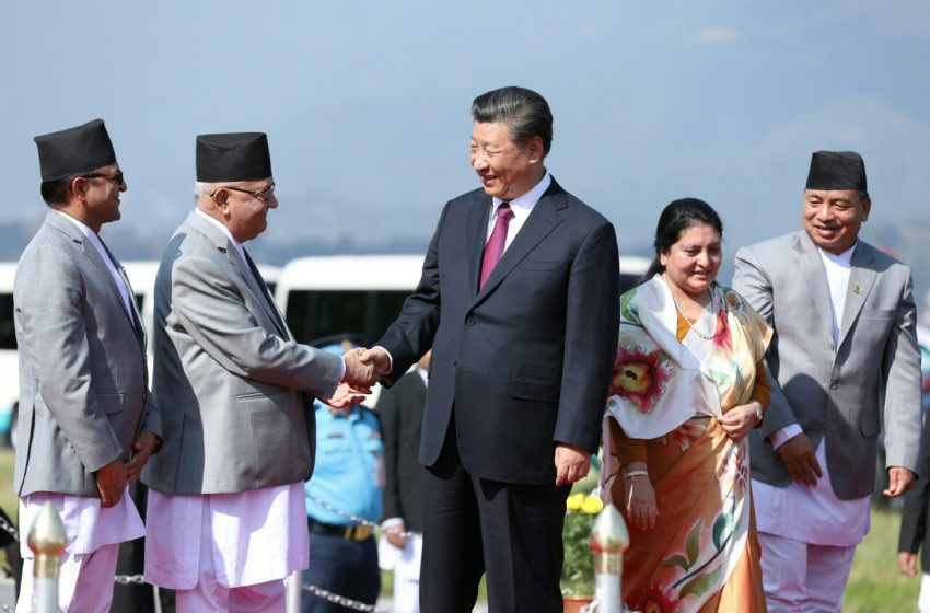 Chinese Footprints In South Asia: Will Nepal Wilt?