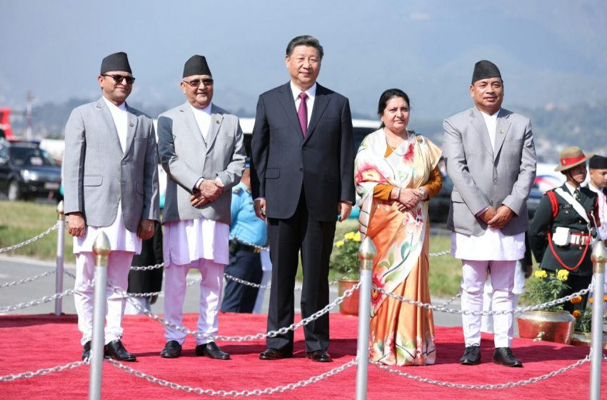 Chinese Footprints In South Asia: Bid To Sway Nepal's Domestic Politics