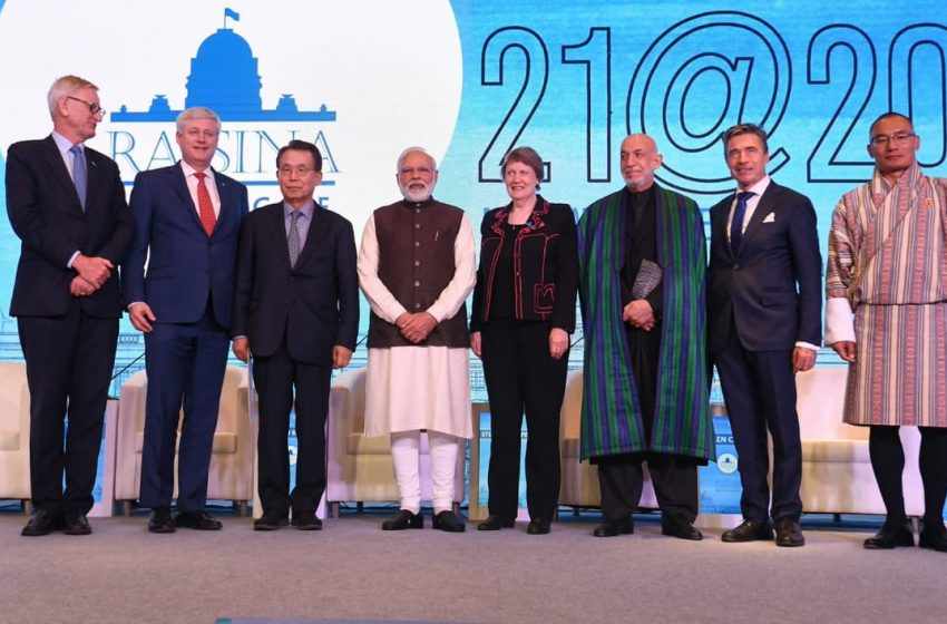 Contemporary Global Issues Find Resonance At Raisina Dialogue 2020