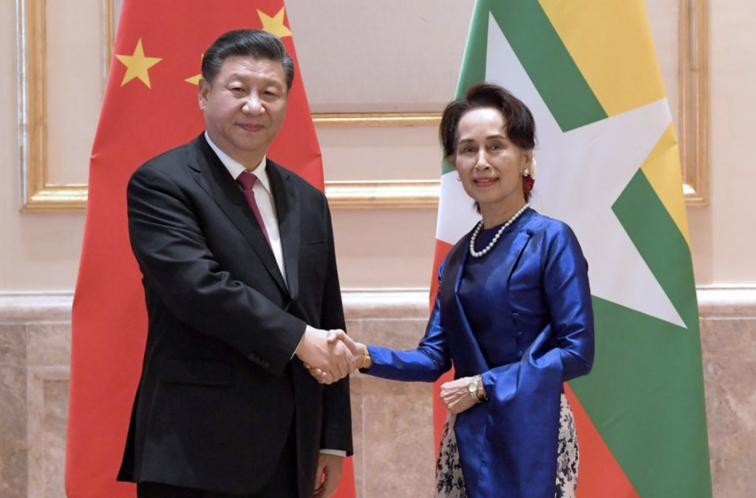 Eye On Access To Indian Ocean, Xi Jinping Visits Myanmar