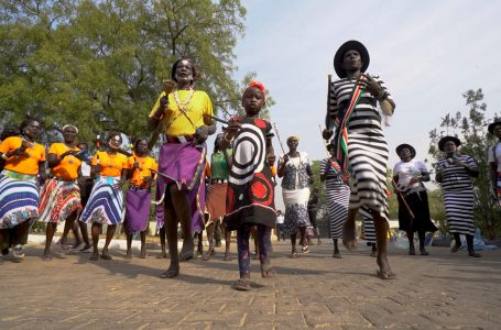Culture Corner: Dinka Tribal Dance In South Sudan