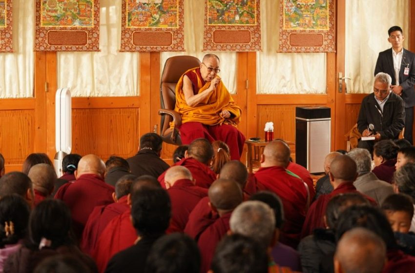 New Generation Of Tibetans As Determined As The Earlier Ones, Affirms Dalai Lama