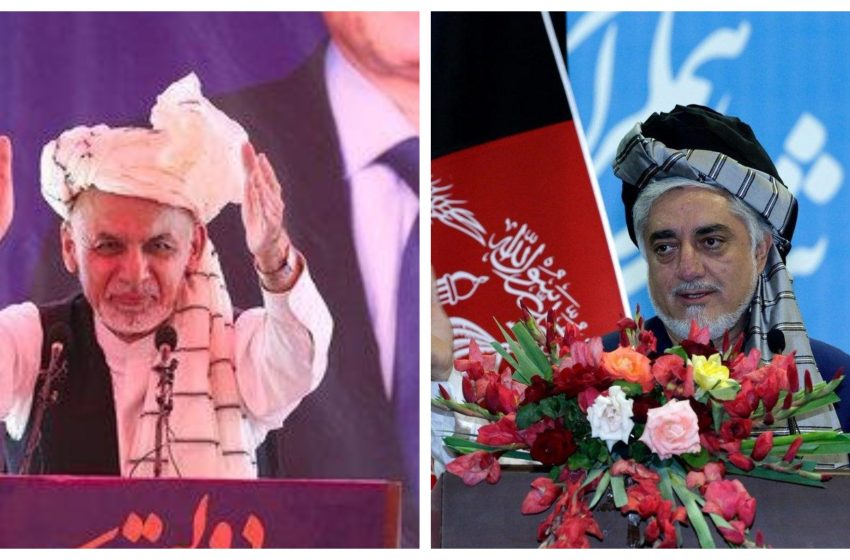 Two Afghan Governments 'Announced' On The Cusp Of U.S.-Taliban Deal