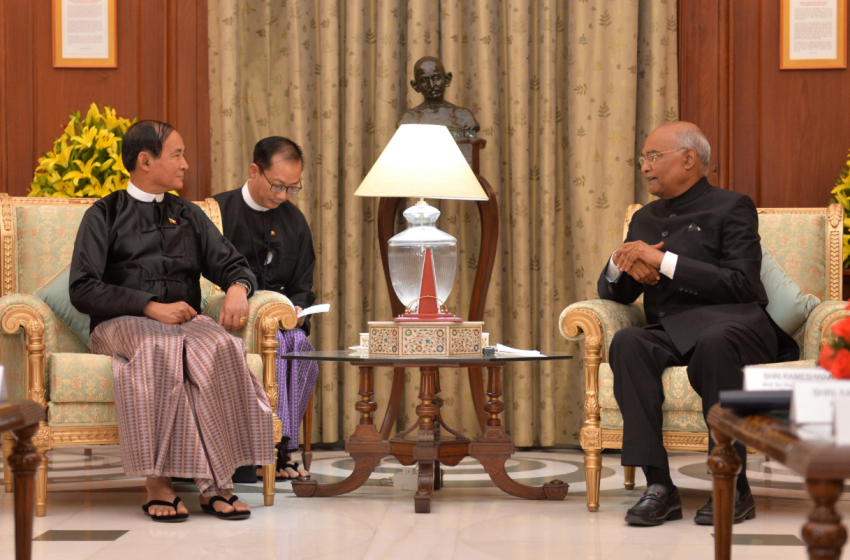 Myanmar President's Visit: India Signs Development Projects For Rohingya Heartland