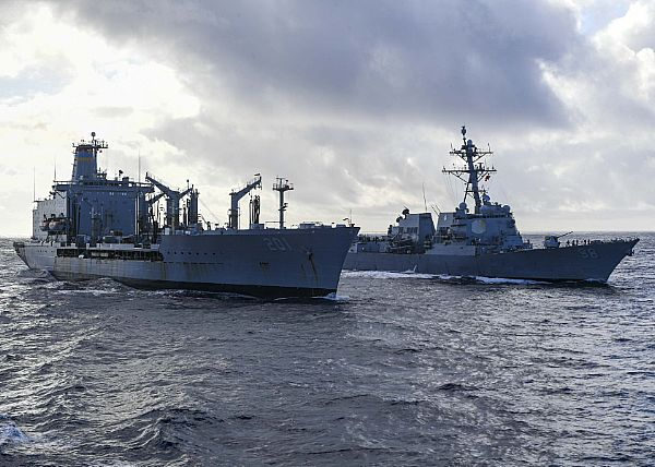 US-Iran Standoff Threatens To Escalate As Iran's Warships 'Harass' US Vessels At Sea