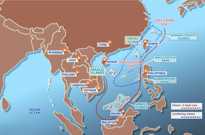 China's South Sea Manoeuvres And The U.S. Pushback