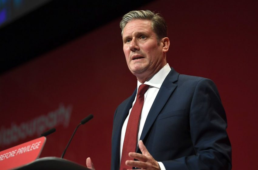 Kashmir Albatross Around Labour Party Leader Keir Starmer's Neck!
