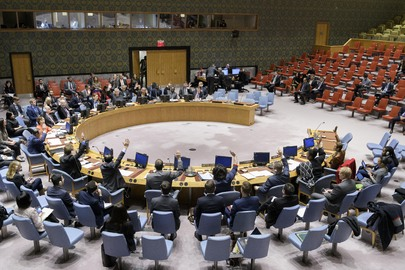 A meeting of the UN Security Council in progress. (Photo: UN Photo/Manuel Elias)