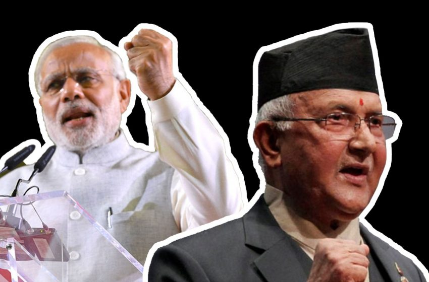 Map Row: India Lobs Dialogue Ball In Oli's Court