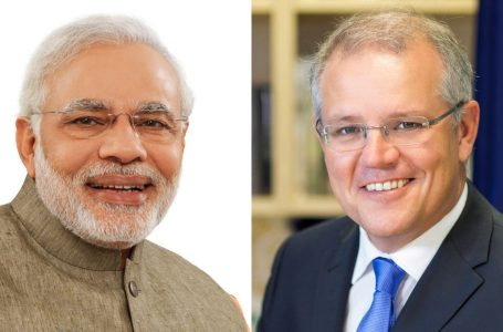 Prime Minister Narendra Modi and his Australian counterpart Scott Morrison are scheduled to hold a virtual summit on June 4.