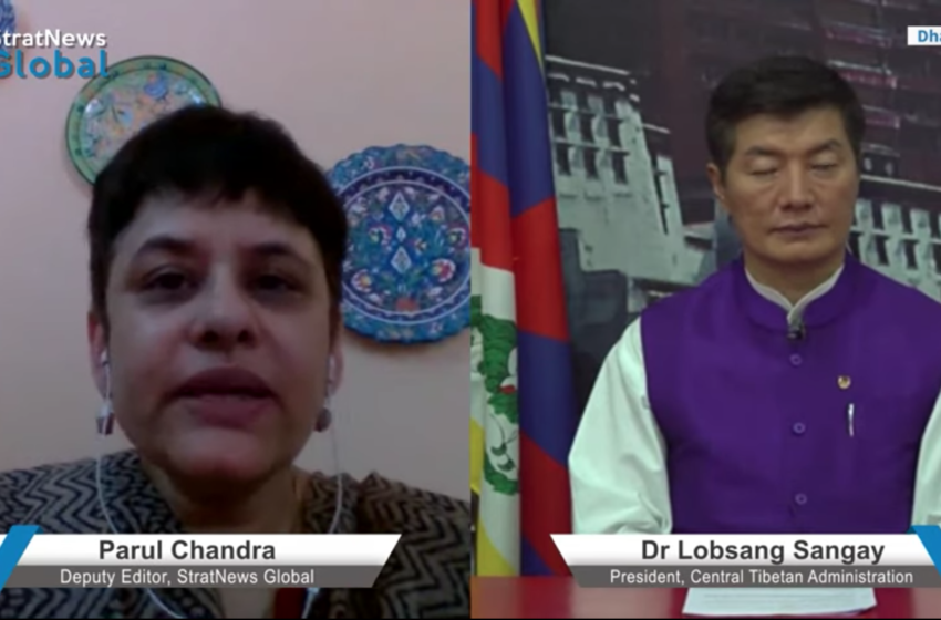 China Got The Palm (Tibet), Now Going After The Five Fingers: Lobsang Sangay on Ladakh Clash