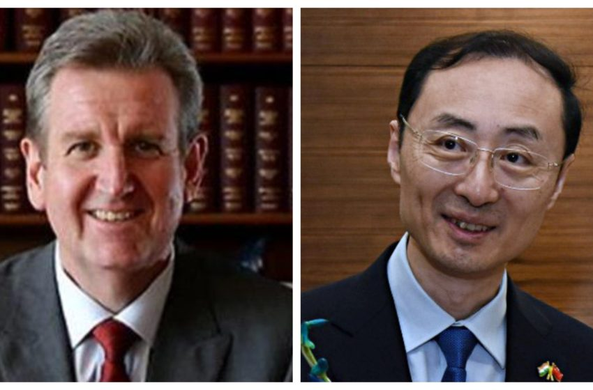 In Twitter Spat With Aussie Envoy, Chinese Diplomat Spews Black Lie