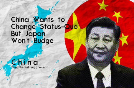 China Wants To Change Status Quo But Japan Won't Budge
