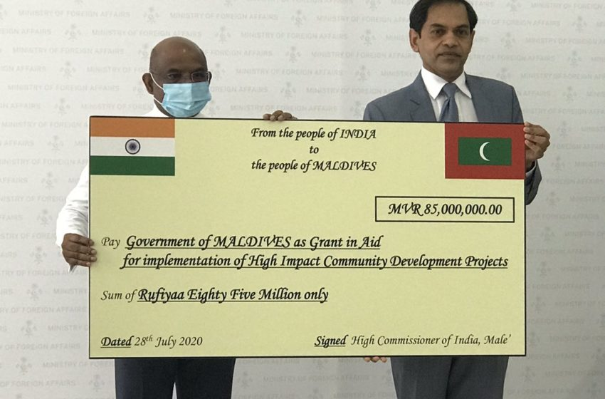 Eye On China, India Steps Up Financial Aid To Maldives