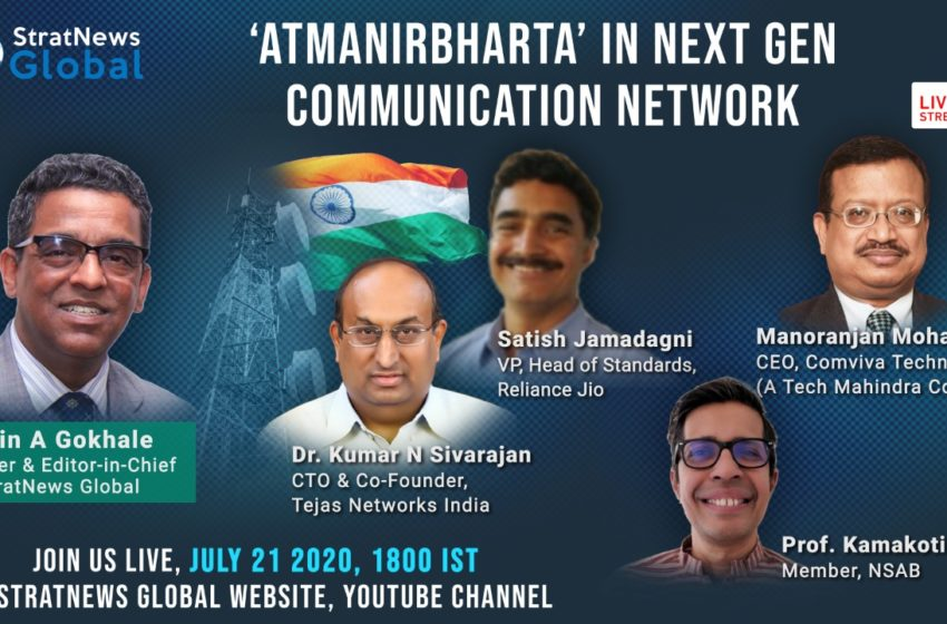 India Capable Of Building Own Telecom Network, The Time Is Now