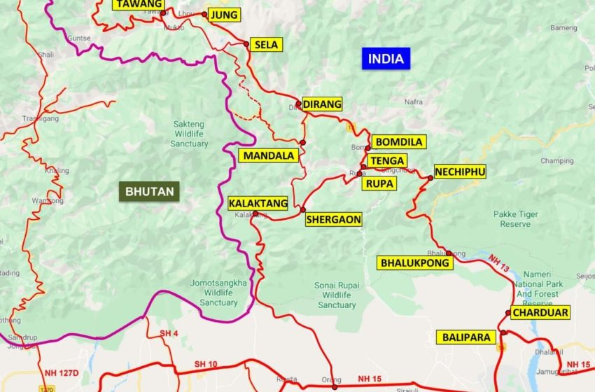 An India Link To China's Wild Territorial Claim In Eastern Bhutan