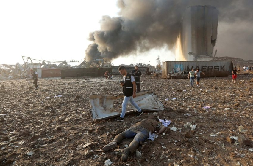 Economic Crisis, Pandemic And Explosions: Lebanon On A Powder Keg