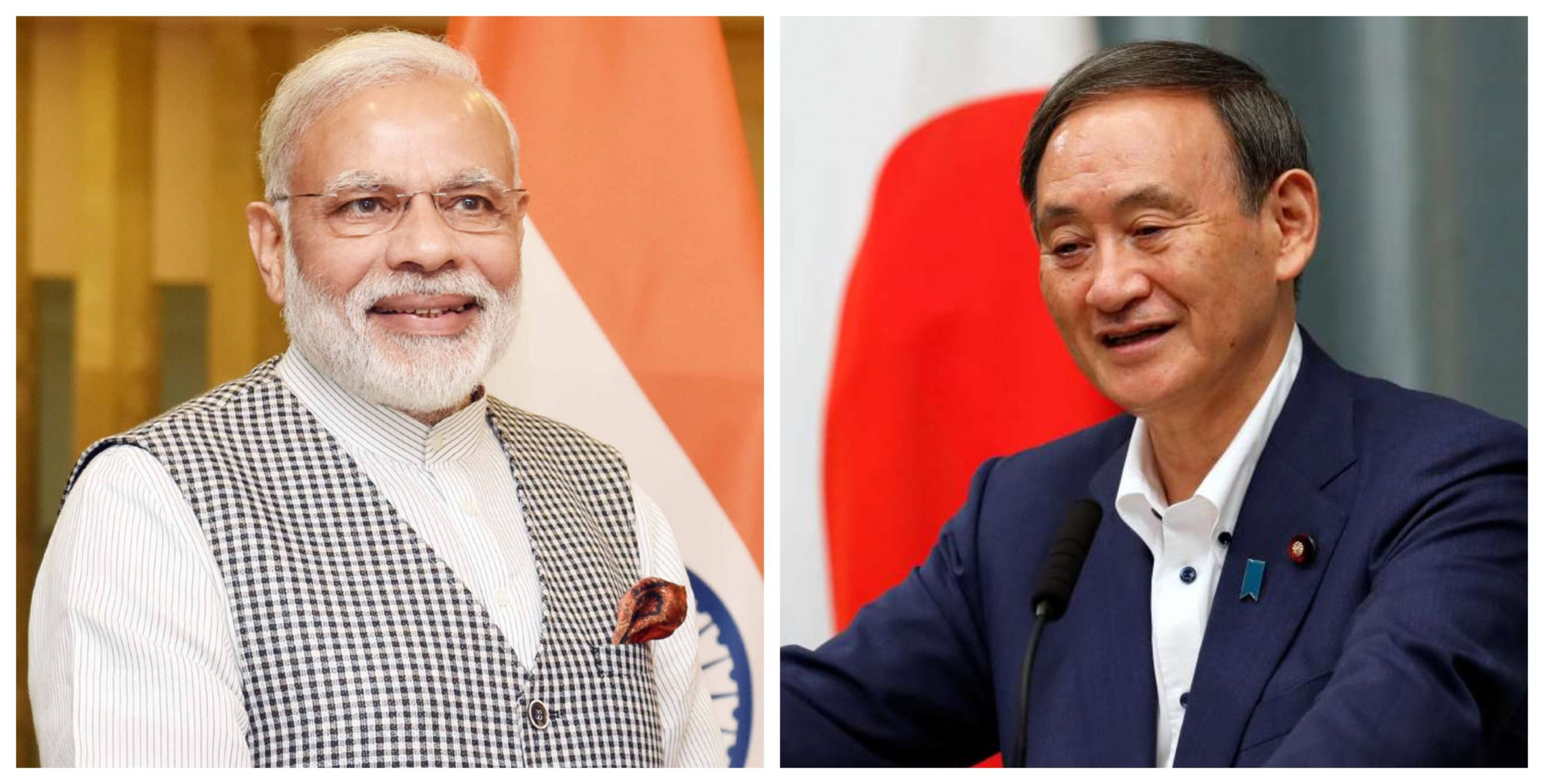 Indian Prime Minister Narendra Modi had his first conversation with the new Japanese PM Yoshihide Suga on Friday. The Indo-Pacific was  one of the areas of focus in their conversation.