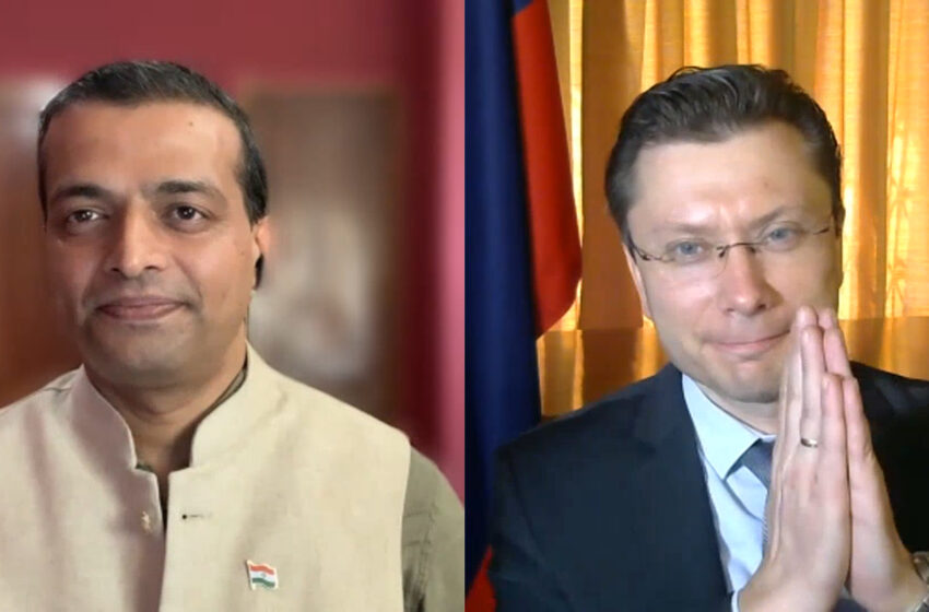India-China Talks Encouraging, Happy Both Used The Moscow Platform: Russian Deputy Chief Of Mission Roman Babushkin