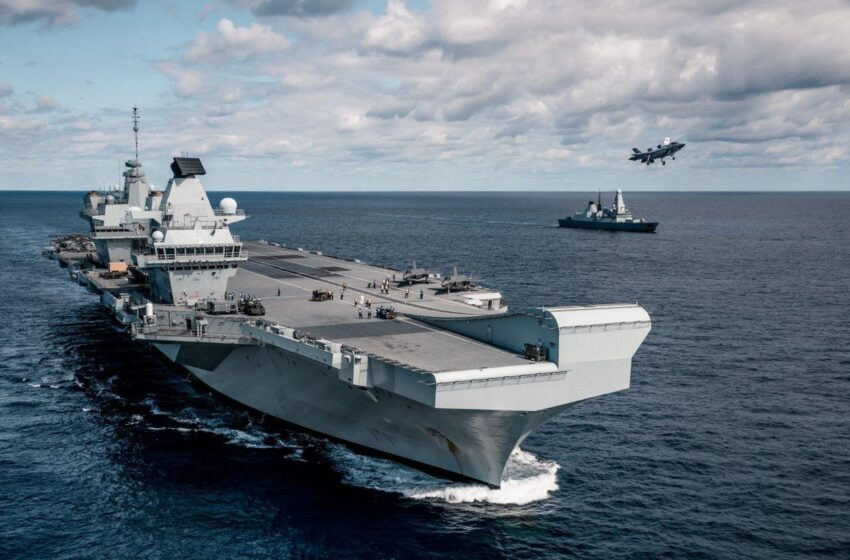 Britain's Stepping Up Presence In Indian Ocean; Tilting Towards India