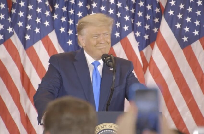 Trump Claims Victory, Will Go To Supreme Court To Stop Vote-Counting