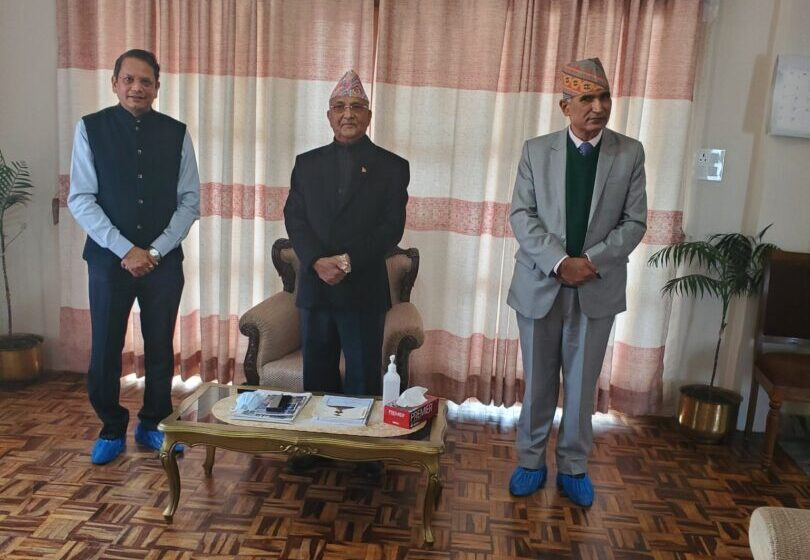 Mending Fences: Now BJP Reaches Out To Oli