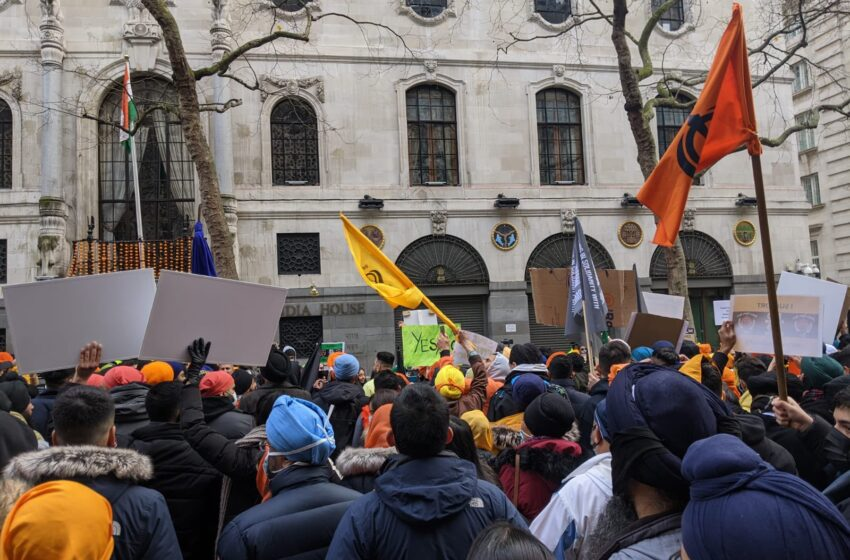 Hate Crimes Up In UK But Sikh Separatists Bat For India's Farmers