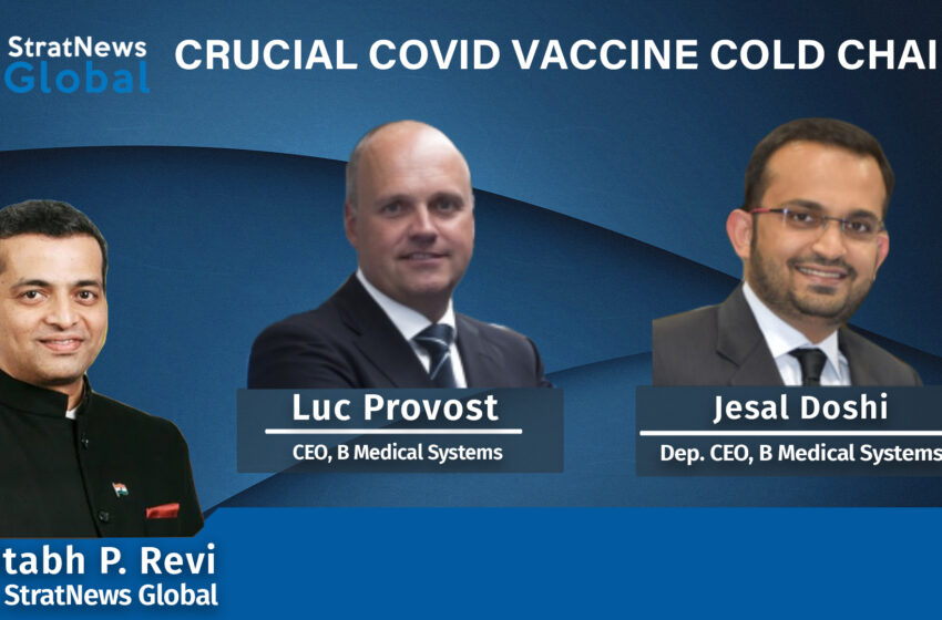 Crucial COVID Vaccine Cold Chains