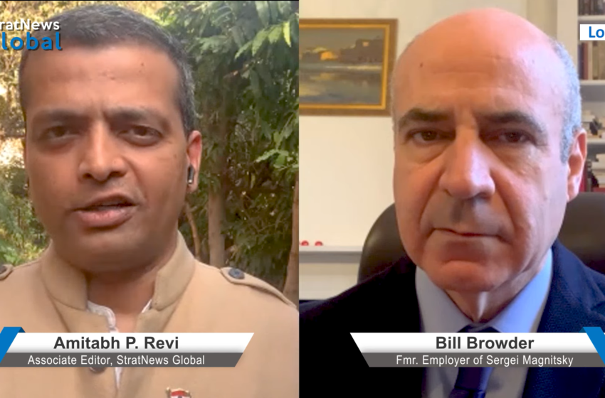 Difficult For China To Retaliate To EU 'Magnitsky' Act Without Cutting Off Nose To Spite Face: Bill Browder