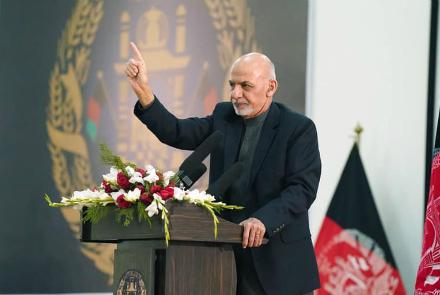 Ghani Rejects Prospect Of Interim Govt