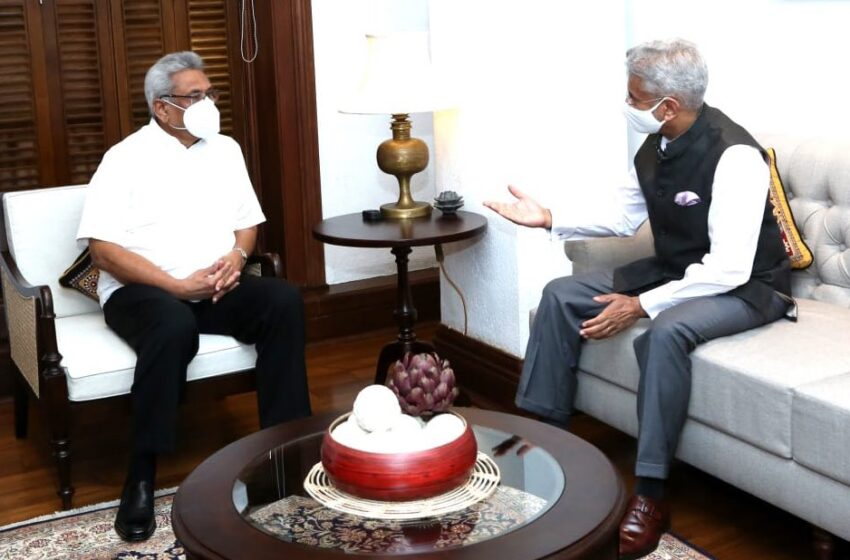 In Sri Lanka, Jaishankar Talks Collaboration, Justice For Tamil Minority