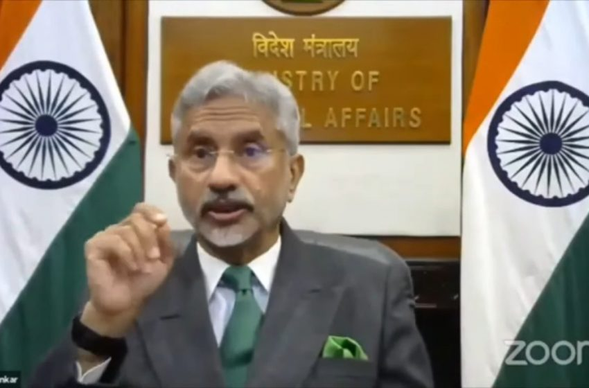 Border Peace Basis For India-China Relations In Other Areas: Jaishankar