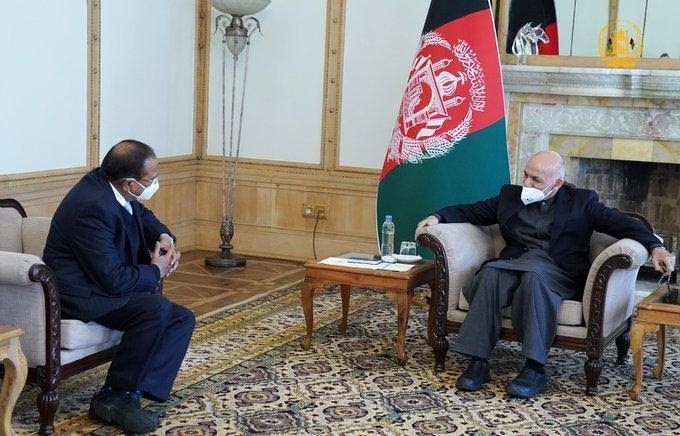 NSA Doval In Kabul, Ghani Stresses 'Joint Endeavours With U.S. And NATO Against Terror'