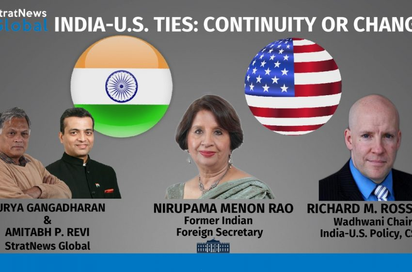 India-U.S. Ties: Continuity Or Change?