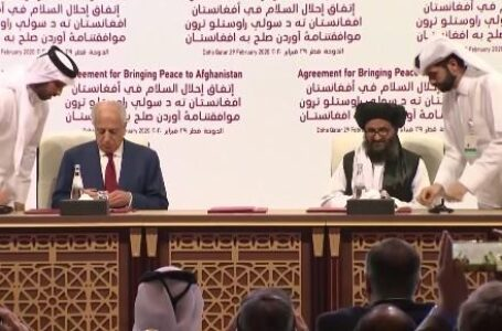 One Year On, Afghan Govt Sees No Progress in U.S.-Taliban Deal