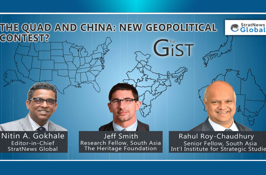 The Quad And China: New Geopolitical Contest?