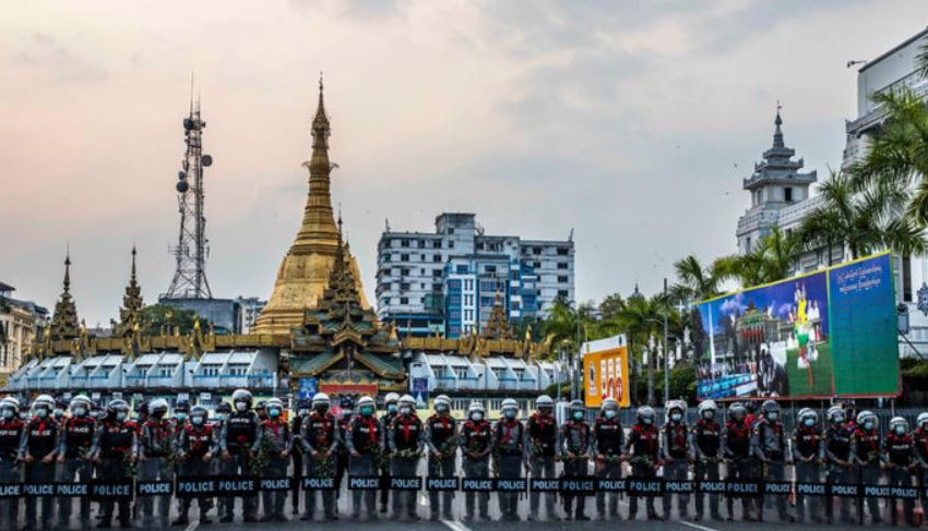 Myanmar's Economy In Free Fall Under Military Regime