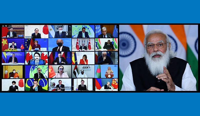 India Doing Its Part, Says Modi, Announces Green Partnership With U.S.