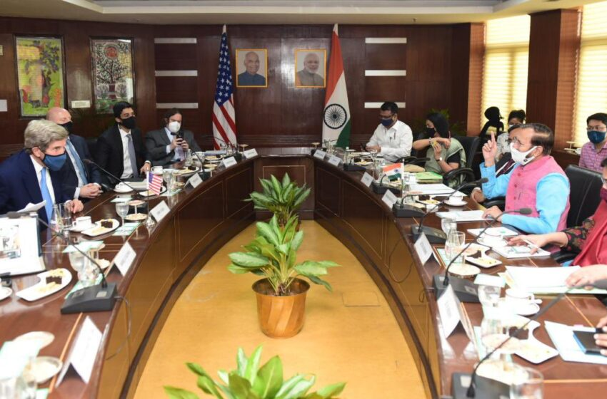 India Pushing The Curve On Climate Change, Says Kerry