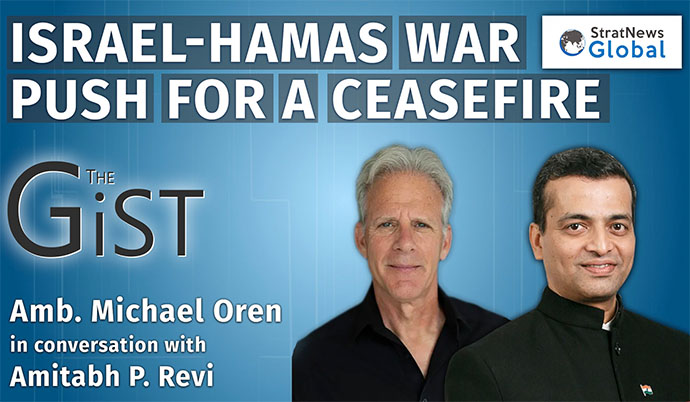 Goal Is To Deter Hamas From Firing Rockets At Us In Future: Former Israeli Envoy