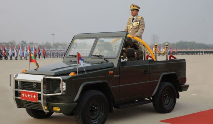 Myanmar Coup Leader Admits Not In Full Control of Country
