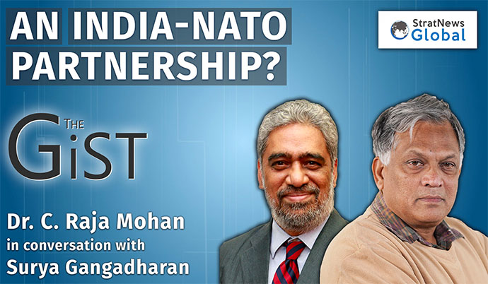 'India Should Not Hold Back From Talking To Nato'