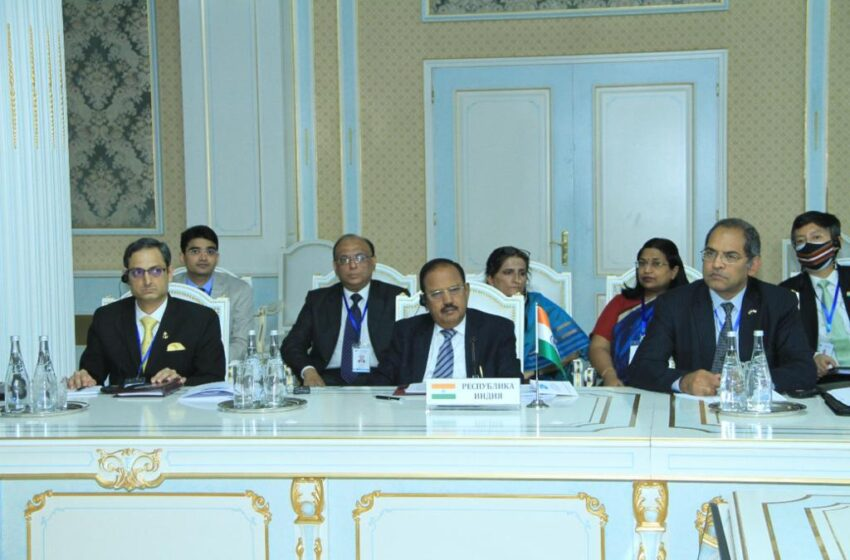 Act Against Those Perpetrating Terror, Doval Tells SCO Meeting