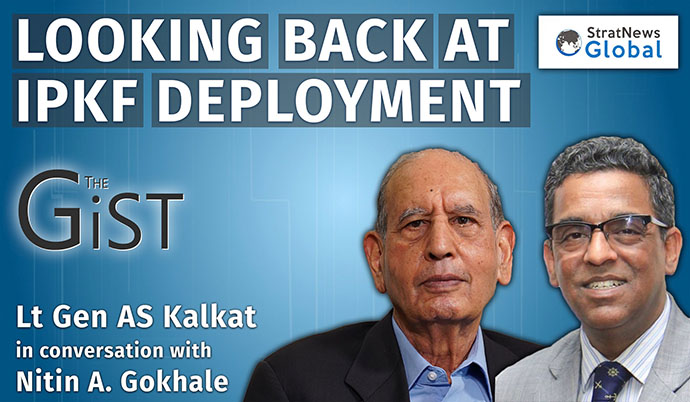 Forcing Sri Lankan Government To Accept The Accord Was A Mistake : Says Former IPKF Chief