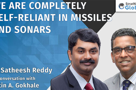 We Are Self-Reliant In Missiles & Sonars, Says DRDO Chief
