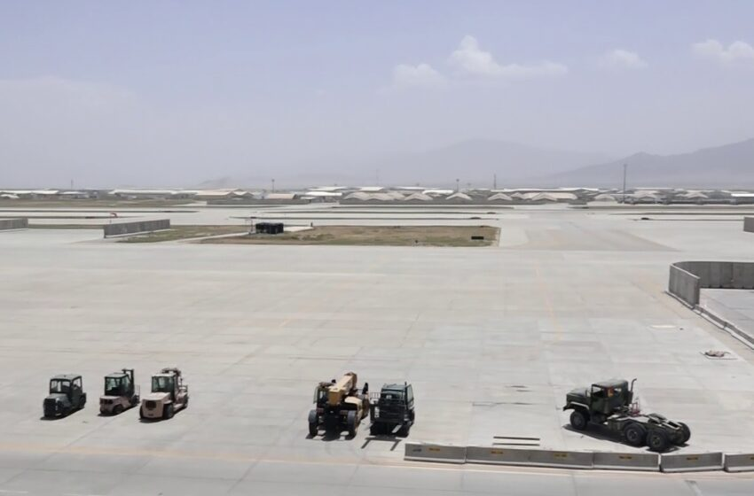 Afghan Forces Consider Ways To Use Bagram Airfield