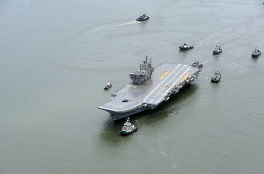 A Sea Of Opportunity: The Route To Indigenous Aircraft Carrier 1