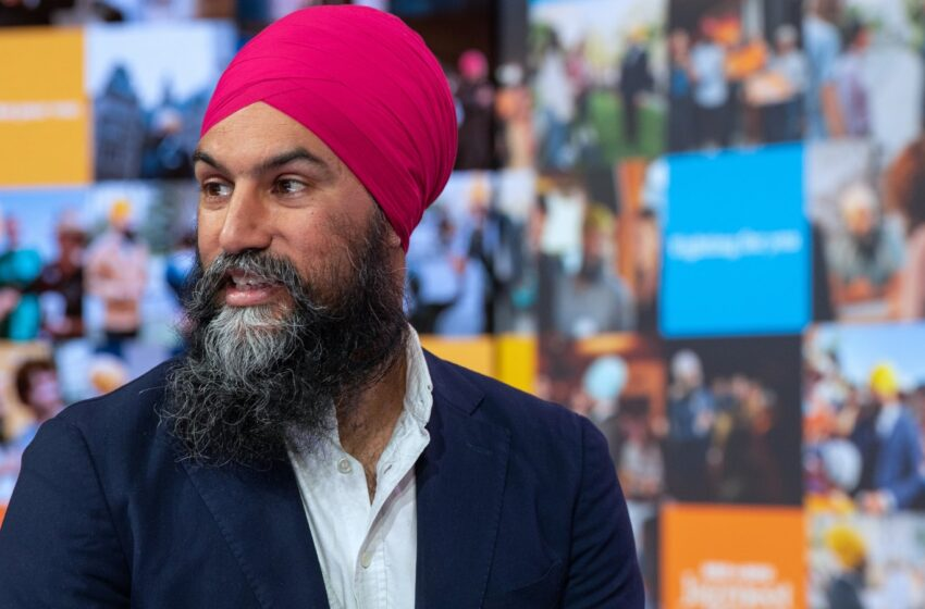 'Jagmeet Factor' Could Be Key To Canada's Election