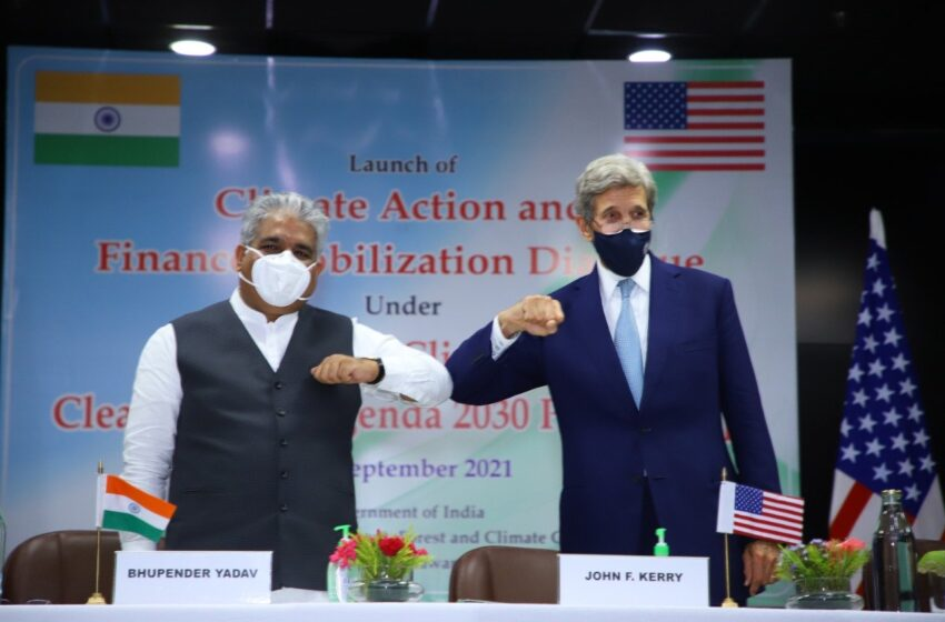 India Stands Firm As Kerry Pushes Net Zero Emissions